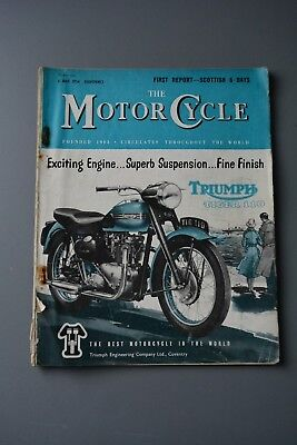 R&L Mag: Motor Cycle 6 May 1954 Lambretta Deluxe 125 LD Test/Touring/Tokyo Show