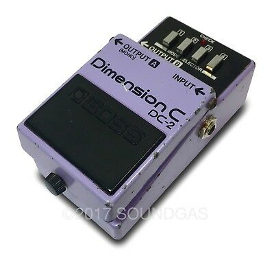 BOSS DIMENSION C DC-2 - Vintage Chorus Effect Pedal - inc. 20% VAT /D