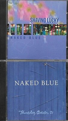 lot of 2 Naked Blue CDs - free shipping - see photos - save 10%