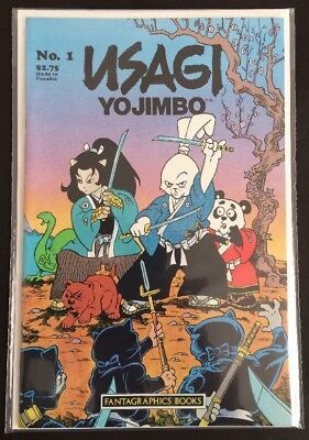Usagi Yojimbo (Fantagraphics) #6 & Summer Special, Space Usagi (Mirage) #1 VF