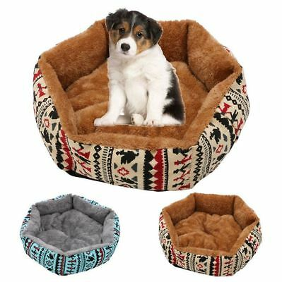 48cm Pet Dog Cat Bed Soft Cushion Winter Warm Plush Kennel Mat Pad Blanket Gift