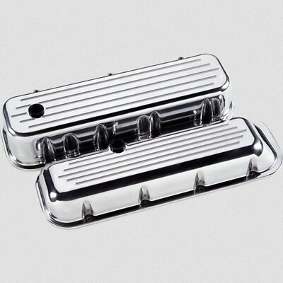 Billet Specialties 96120 Valve Covers Big Block Chevy Ball Milled Tall