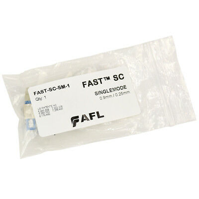 FASTConnect Field Installable Connectors, FAST SC Singlemode, 0.9mm / 0.25mm