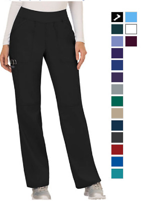 Cherokee Scrubs WorkWear Revolution Pants WW110P Petite All Colors All Sizes