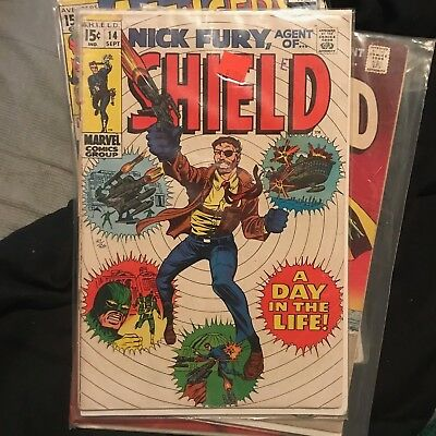Nick Fury, Agent of SHIELD #14 (Sep 1969, Marvel)