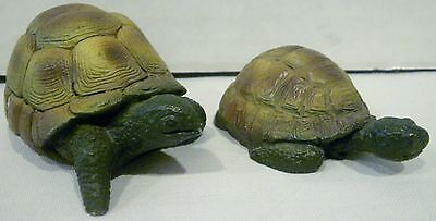 2 Turtle Figurines