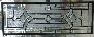 """Stained Glass window hanging 36 1/2  X 14"""""""