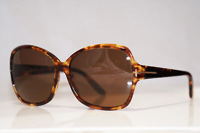 6d06bdf1a90d TOM FORD Boxed Womens Designer Sunglasses Brown Butterfly NICOLA TF229 41B  11282