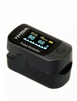 Fingertip Pulse Oximeter with Alarm System & Pulse Sound Indicator.