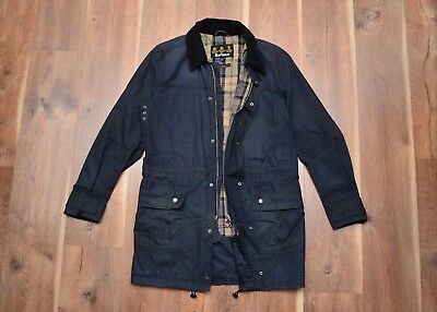 Barbour Haycock Men's Waxed Coat Jacket M Medium Fishing Hunting Casual
