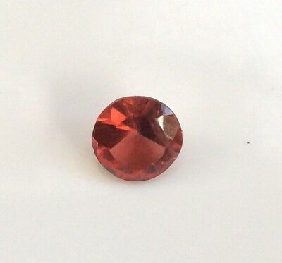 1 Pc Round Cut Shape Natural Light Garnet 5Mm Loose Gemstone