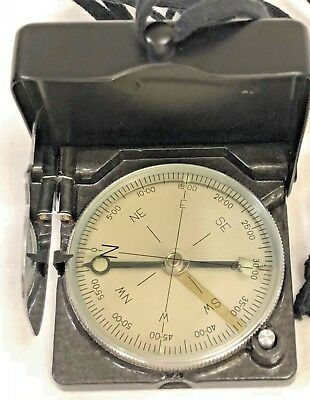 B1-69 Vintage Collectible Working Magnetic Military Compass 1999 IOR with case
