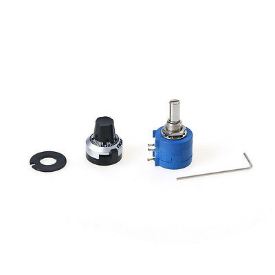 3590S-2-103L 10K Ohm Potentiometer With 10 Turns Counting Dial Rotary Knob UKSfG