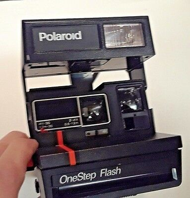 Polaroid CameraOne Step 600 Close Up Instant Flash Authentic and Vintage