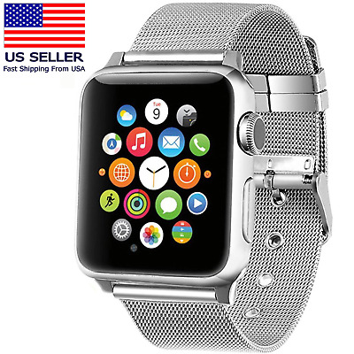 Stainless Steel iWatch Replacement Band 42mm Apple Watch Series 3/2/1 Edition