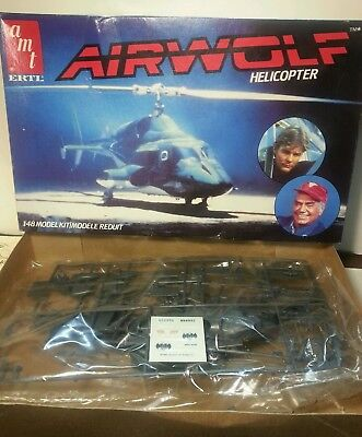 Amt airwolf helicopter kit