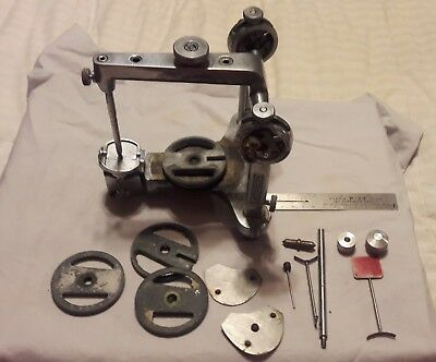 Hanau Articulator Dentistry Dentist With Accesories in Hard Case