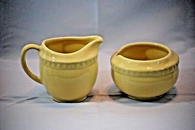 "Gail Pittman Hospitality Collection Sugar Bowl and Creamer ""NO LID"""