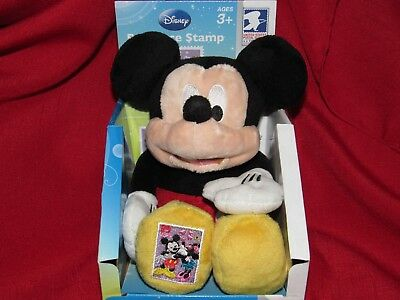 NEW Mickey Mouse Plush USPS Romance 39 Cent Stamp Love