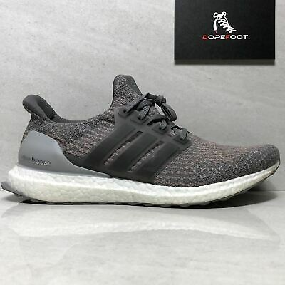 brand new 65d18 9d1f0 ... quality design 0e11c bc600 Adidas Mens Ultraboost Size 11 Grey FourGrey  FourTrace Pink s82022 ...