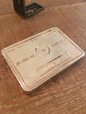 Royal Canadian Mint 10 Oz Silver Bar Low Serial A005 maple