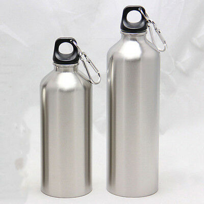 Water Flask Stainless Steel Double Wall Vacuum Insulated Bottle Sport 500-750ML