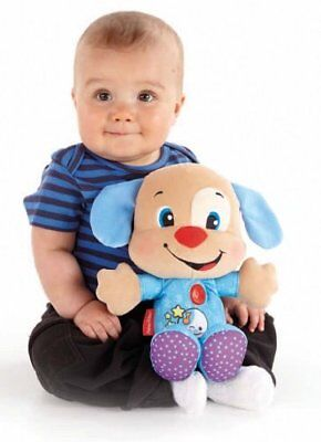 Fisher-Price Laugh & Learn Nighttime PUPPY w/ Songs Music & Lights Soft Baby Toy