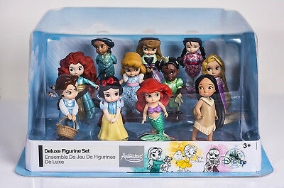 DISNEY PRINCESSES ANIMATORS COLLECTION DELUXE SET Ariel Belle Jasmine Aurora...