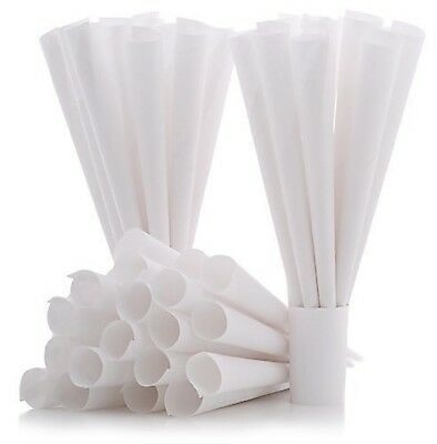 Cotton Candy Express Cones- 100 Pack, White | Cotton Candy Cones | For Commer...