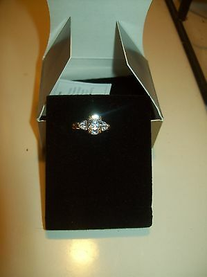 Avon CZ Ring in a size 7 NIB