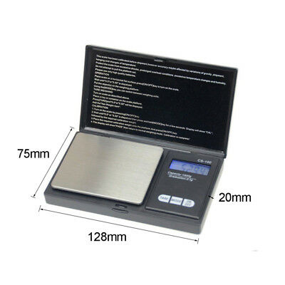 LED Portable Precision Digital Scale Gold Silver Weed Cion Pocket Jewerly Tool