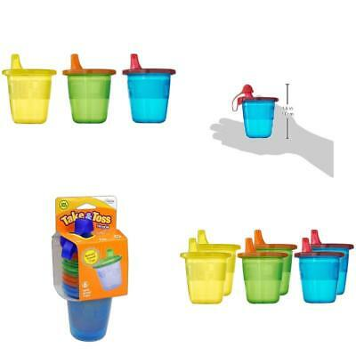 The First Years Take Toss Spill Proof Sippy Drink Cups Pack New Baby Safe Drink