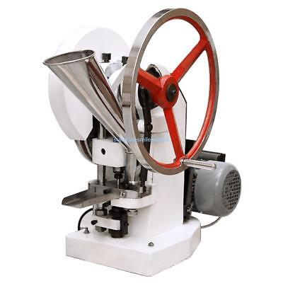 Industry Electric Single Punch Tablet Press Pill Making Machine with Hopper 750W