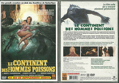RARE / DVD - LE CONTINENT DES HOMMES POISSONS avec BARBARA BACH / NEUF EMBALLE