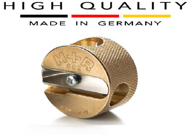 Germany Mobius and Ruppert (M+R) Brass Round Double Hole Pencil Sharpener School