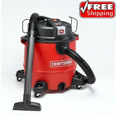 Craftsman Wet Dry Vac 20 Gallon Vacuum Cleaner 6.5 Peak HP Portable Shop Blower