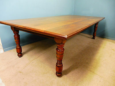 Very Large Antique Walnut Dining Table Circa 1890-1900