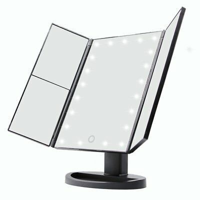 New Light Up Mirror Make Up Mirror With 1X 2X 3X LED Magnifying Dressing Table