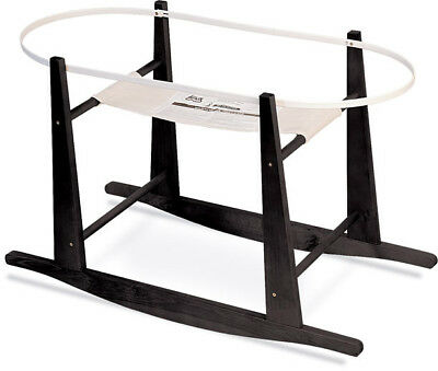 Jolly Jumper - Rocking Moses Basket Stand, Java or White