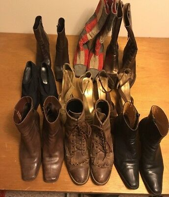 Mixed Lot Of Womens Ladies Shoes Boots Size 7.5-8