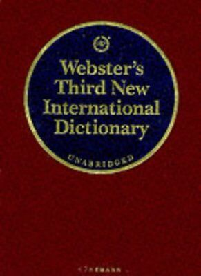 Webster's Third New International Dictionary. Of the Eng... | Book | second hand