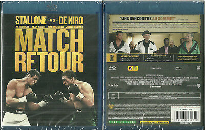 BLU RAY - MATCH RETOUR : SYLVESTER STALLONE vs DE NIRO / NEUF EMBALLE NEW SEALED