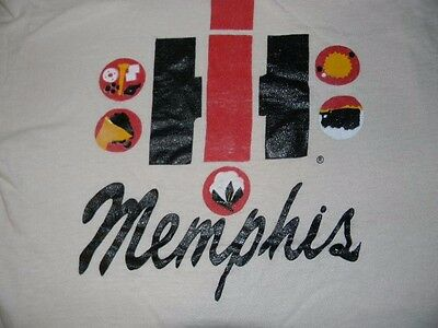 RARE vtg 70s 80s INTERNATIONAL HARVESTER MEMPHIS t shirt men's M SOFT & THIN