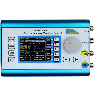 FY2300 50MHz Arbitrary Waveform Dual Channel High Frequency Signal Generator 200