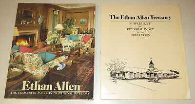 Lot of 2 Ethan Allen 84th edition, Treasury of American Traditional w/ index