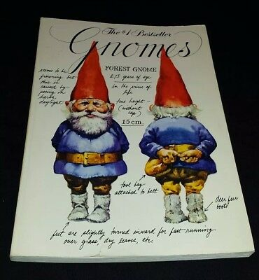 Gnomes by Rien Poortvliet & Wil Huygen Paperback Peacock Press 0-553-01141-3