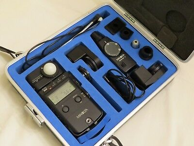 Mint Minolta Flash Meter IV - For Ambient and Flash - With Many Extras + Case