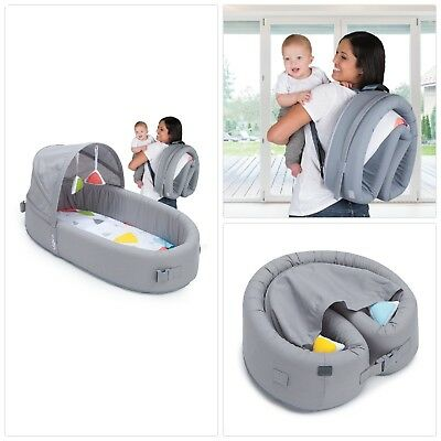 Portable Cribs Nursery Beds Bassinets Infant Baby Kids Bed Folds Into Backpack