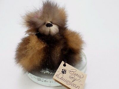 Tumbles- Brown Teddy- Bears by Donna Jean -  OOAK -Artist Made Plush Natural Fur