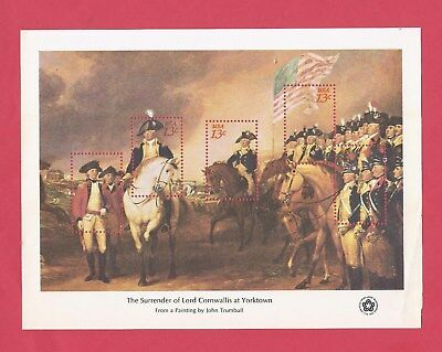U.s. Scott 1686-89 Complete Set Of 4 Bicentennial Souvenir Sheets Mint Ship Free